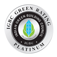 IGBC Platinum rated