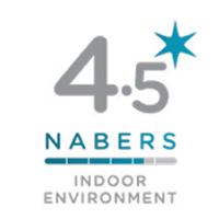 NABERS Indoor Environment Quality Rating 4.5 Stars