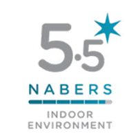 5.5 Star NABERS Indoor Environment Quality rating