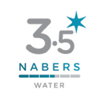 3.5 Star NABERS Water rating