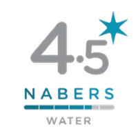 NABERS Water Rating 4.5 Stars