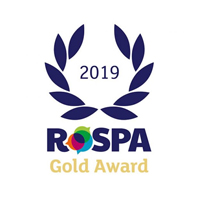 2019 RoSPA Gold Award for Health & Safety