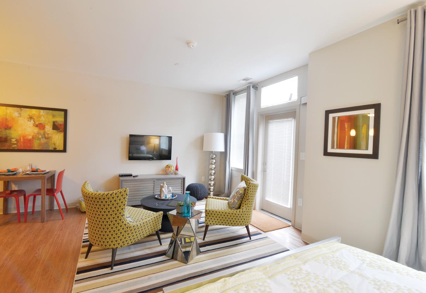A modern apartment unit
