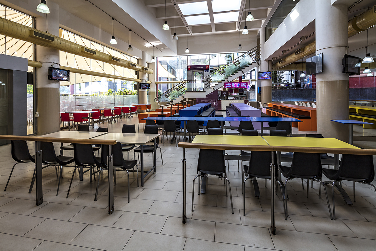A food court