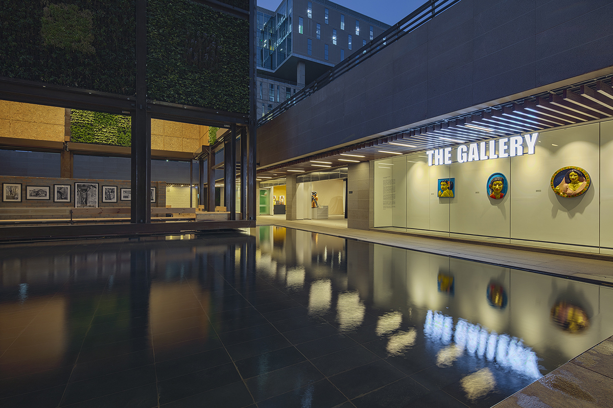 The Gallery at an office building
