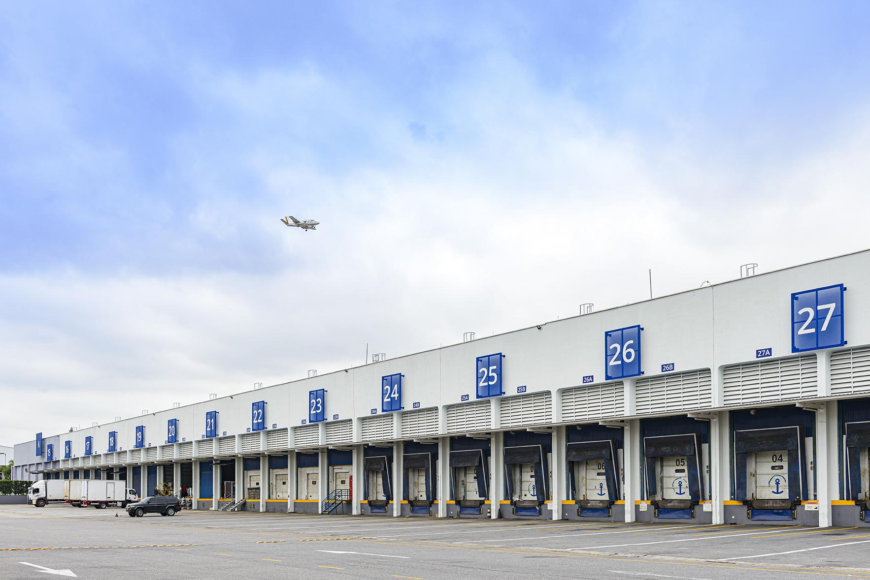 A large logistics property in Brazil