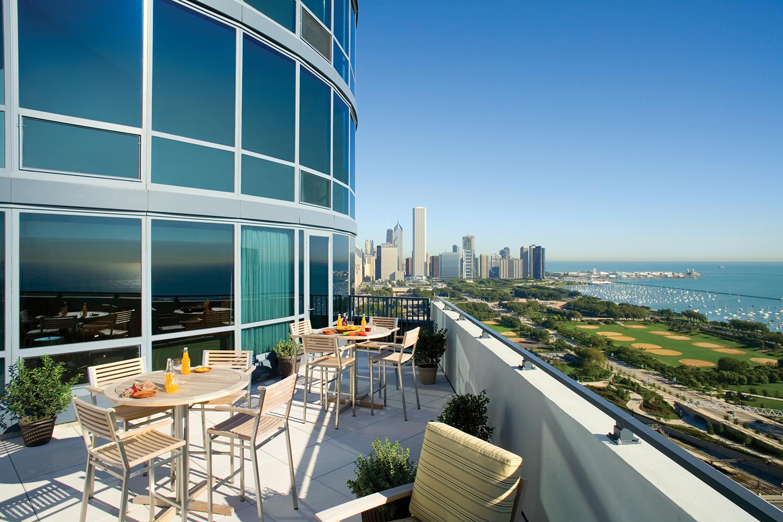 Club Terrace at an apartment building