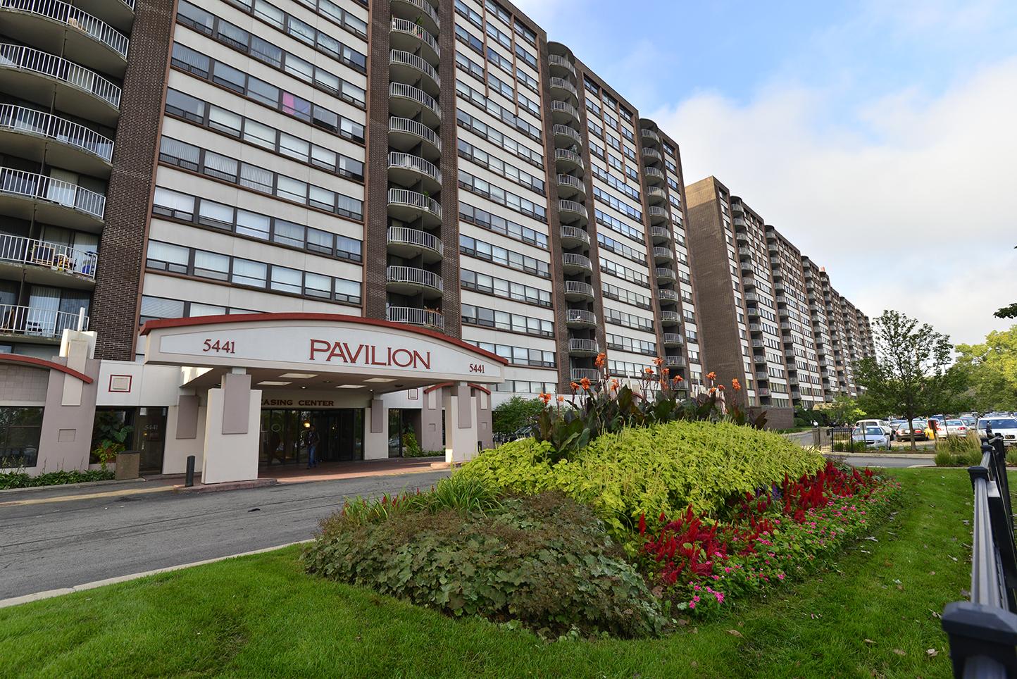 The Pavilion apartments