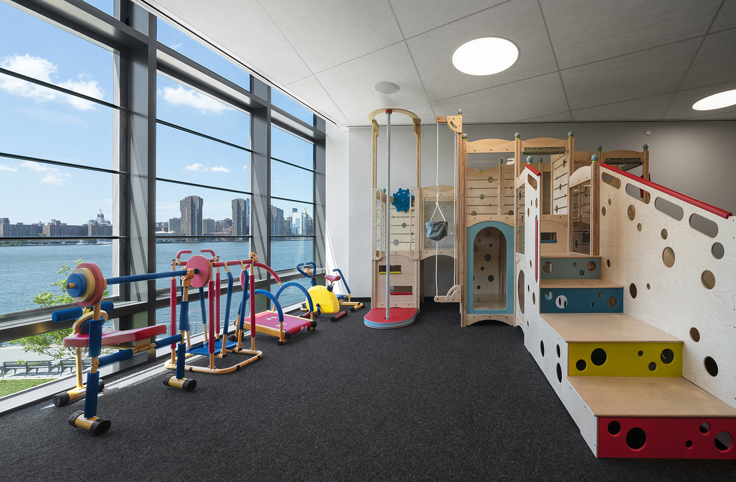 Children's playroom in an apartment building