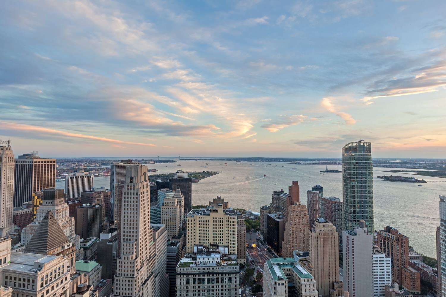 Views from One Liberty Plaza