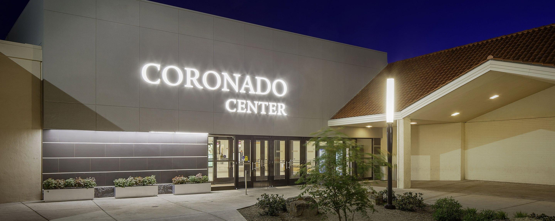Coronado Center shopping mall exterior entrance in Albuquerque New Mexico United States
